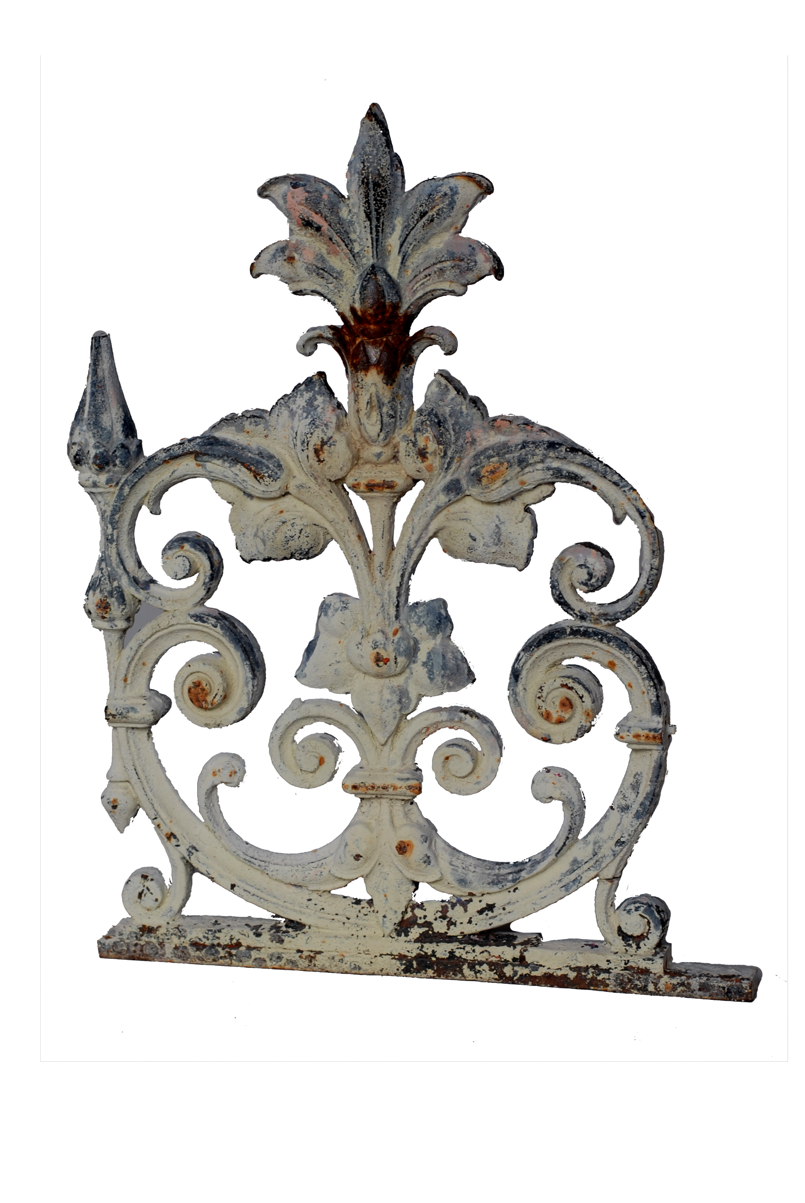 French Architectural Element Grate Lamp