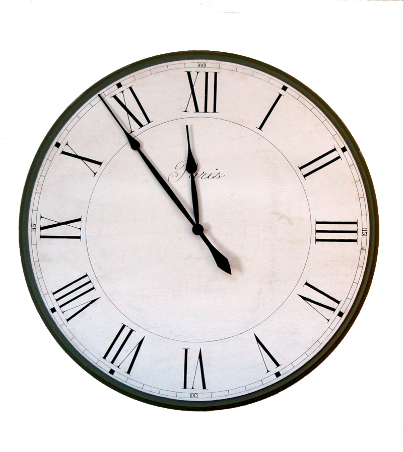 French clock face1