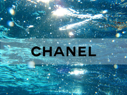 chanel porel on the background of the ocean