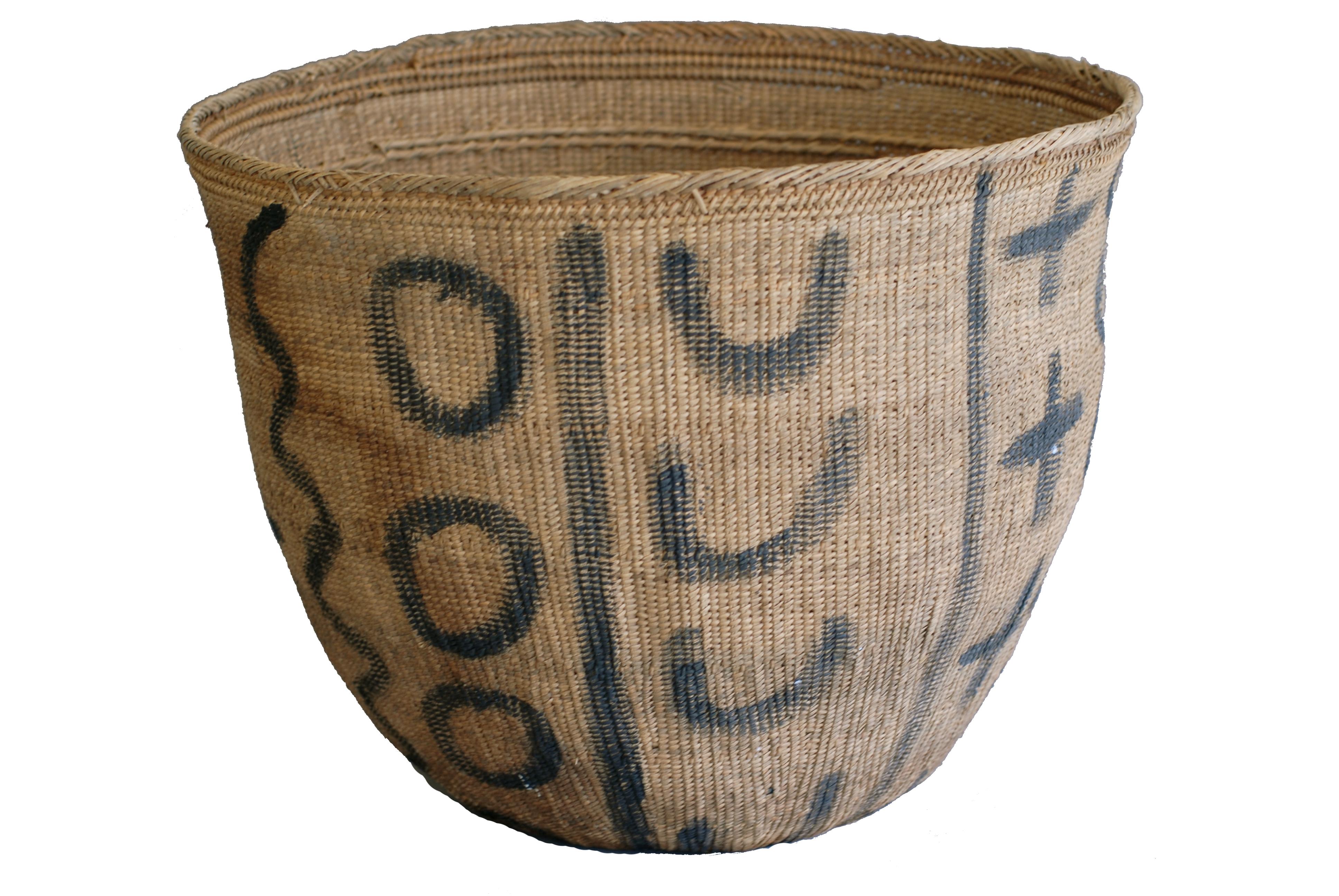 12 Basket w-paint deco