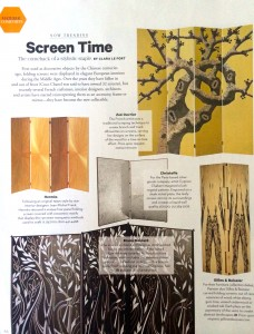 "Departures Magazine ""Screen Time"""