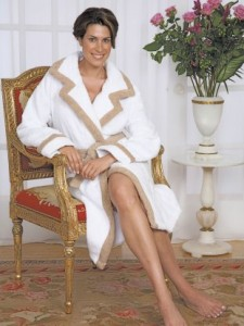 Schweitzer Linen First Lady Bathrobe